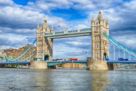 Tower Bridge on the River Thames